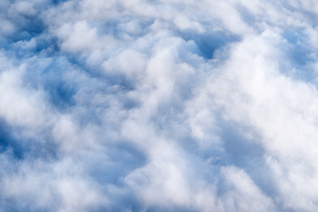 Aerial Photography Clouds