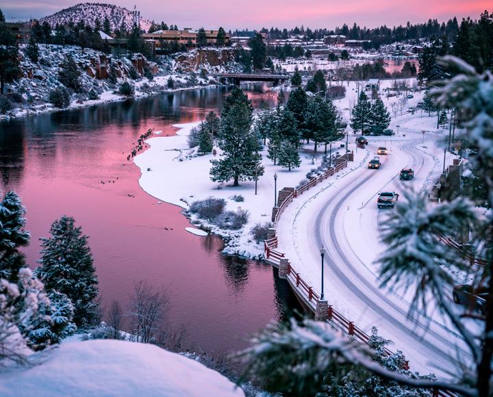 Deschutes River Winter