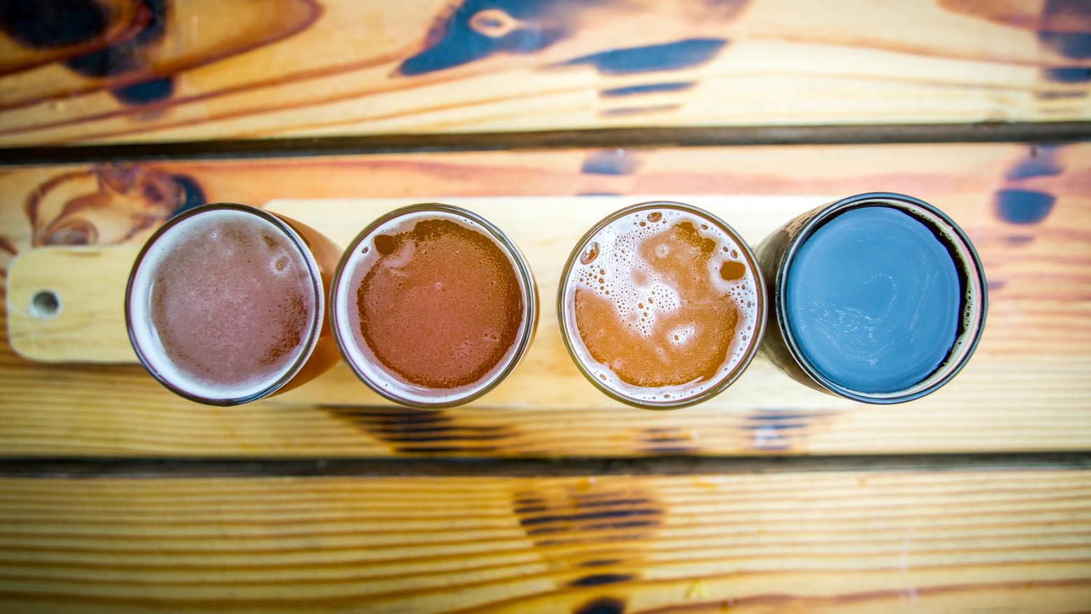 Row of Beer