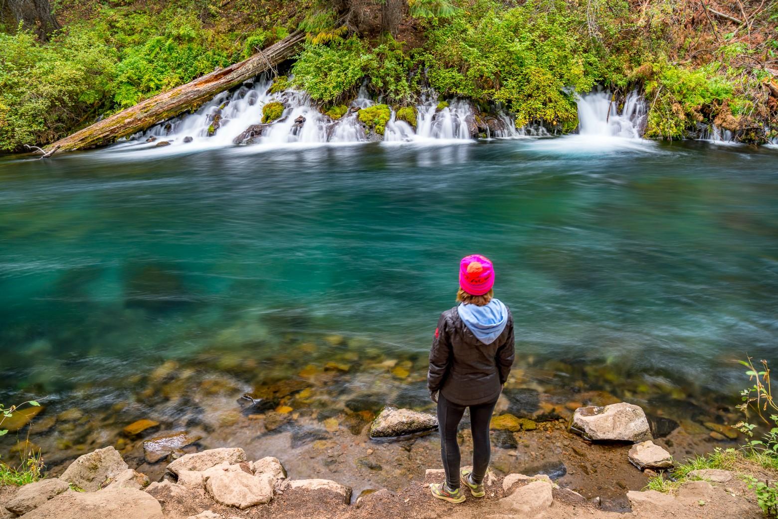 metolius river fall colors