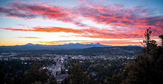 Pilot Butte Sunset