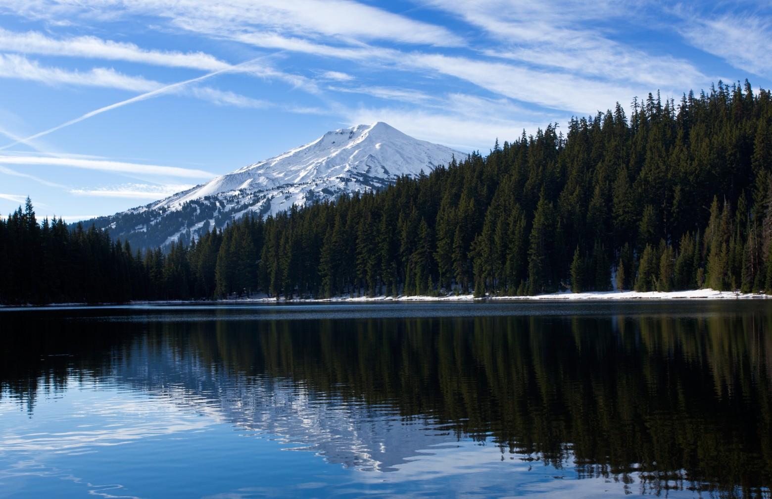 Todd Lake & Mt Bachelor Bend Oregon