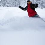 Snowboarder Bend Oregon