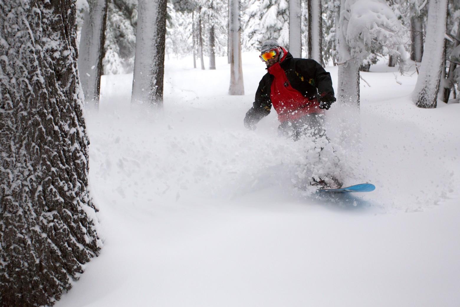 Tumalo Mountain Snowboarding Bend Oregon