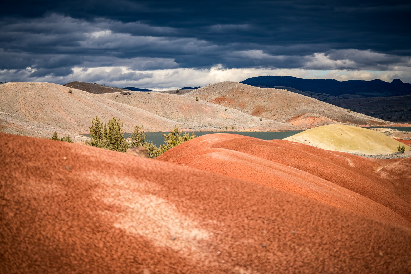 Painted Hills Central Oregon Storm