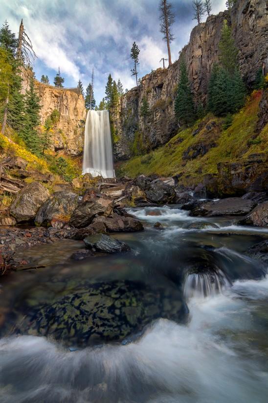 Tumalo Falls Autumn Bend Oregon
