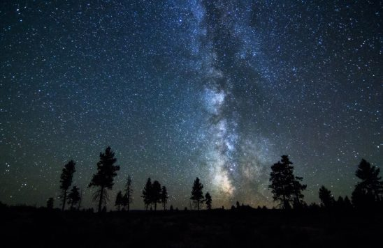 Central Oregon Milky Way By Skyler Hughes