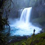 Koosah Falls Backpacker Oregon