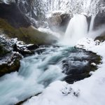 Sahalie Falls Mckenzie River Oregon