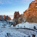 Smith Rock Winter Landscape