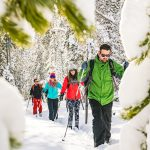 Swampy Lakes Cross Country Skiers
