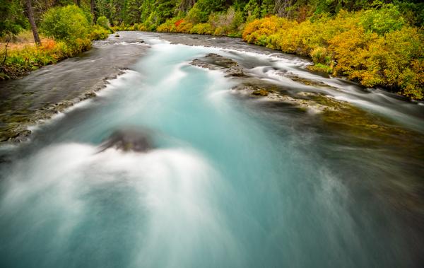 metolius Fall Colors River