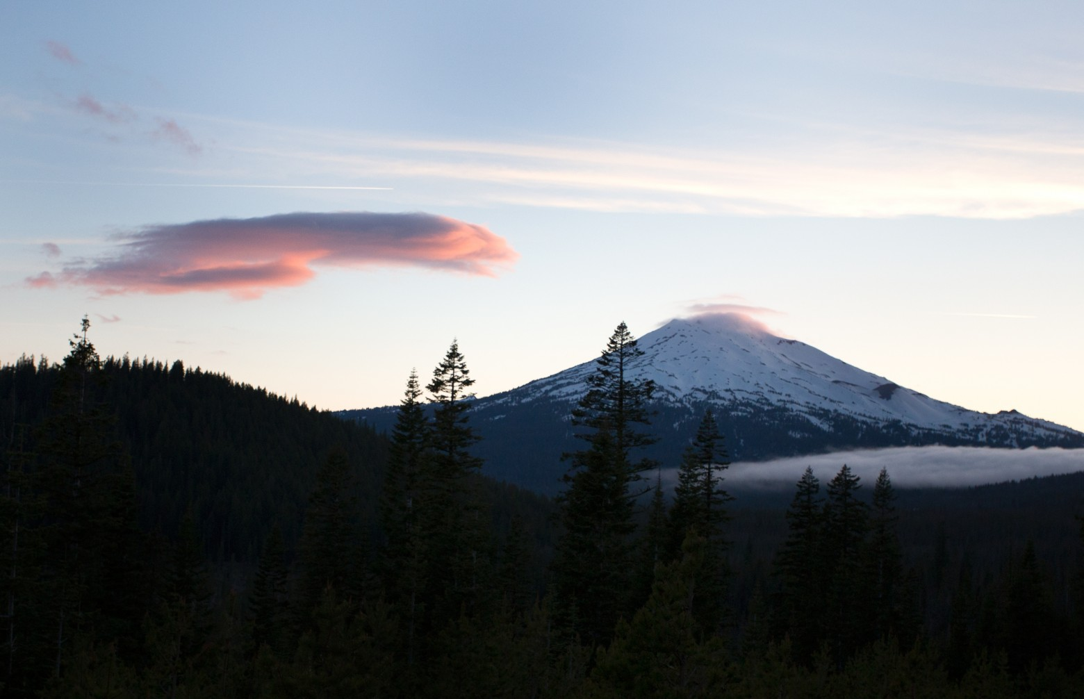 Mt Bachelor Sunset
