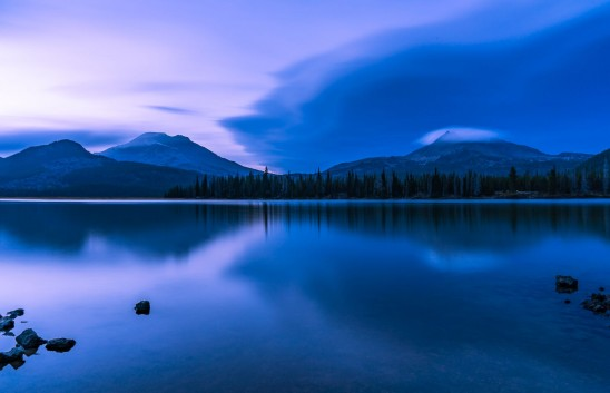 Sparks Lake Blue Hour