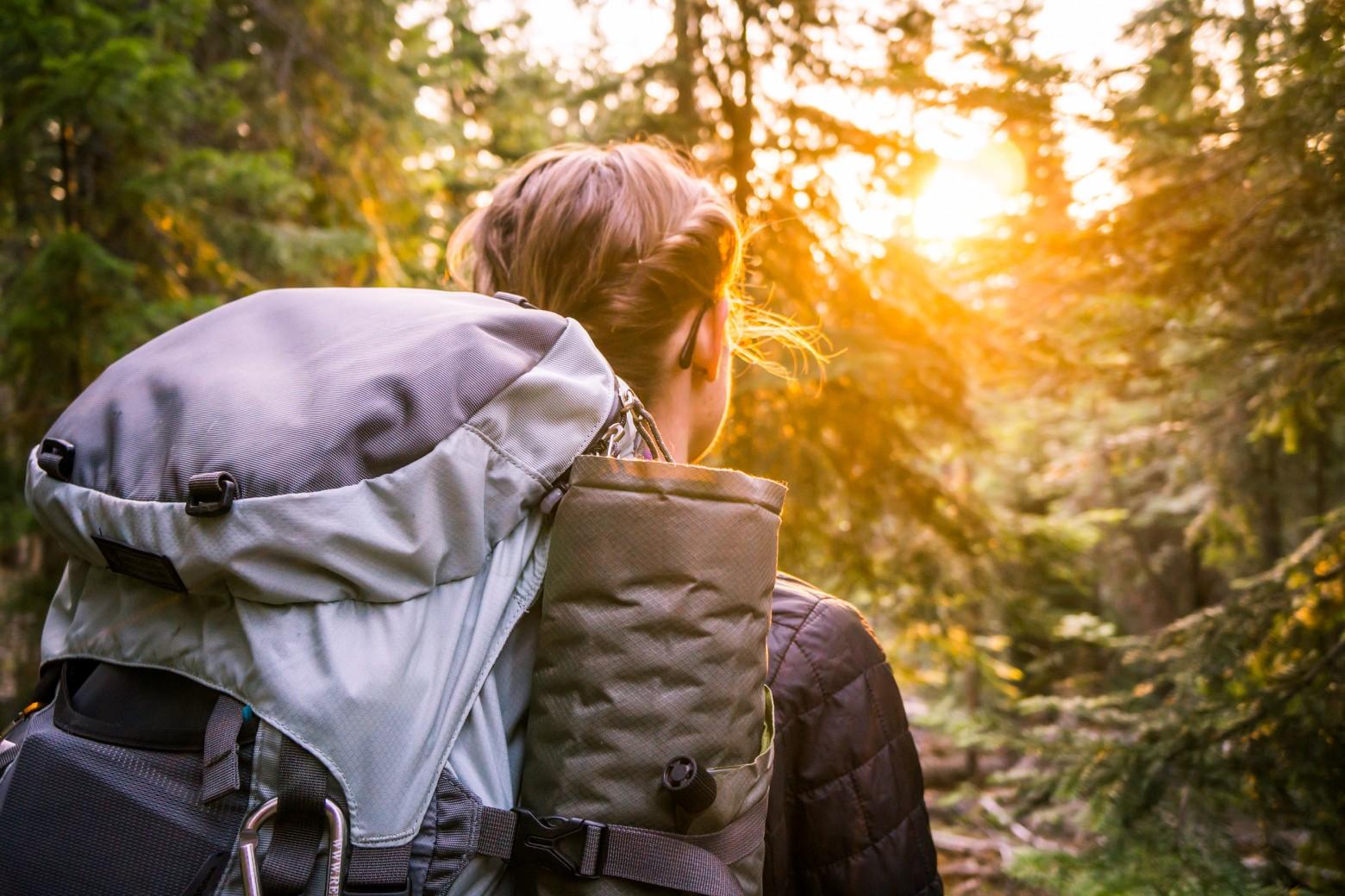 Backpacker Sunlight