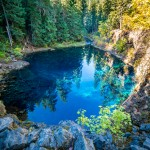 Blue Pool Mckenzie River Oregon