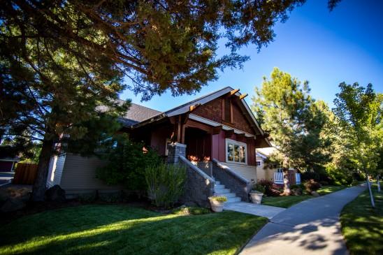 Real Estate Side View Bend Oregon