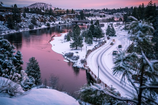 Deschutes River Old Mill Bend Oregon