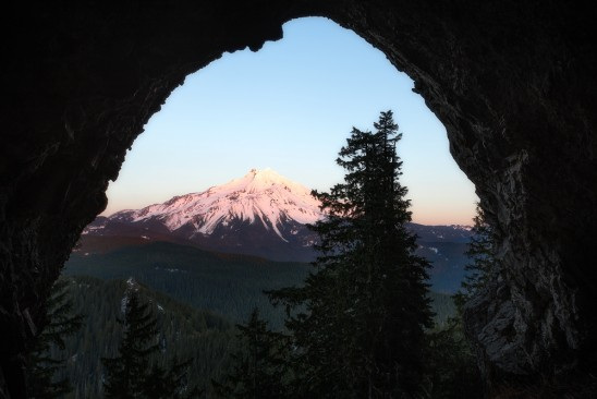 Boca Cave & Mt Jefferson Wilderness