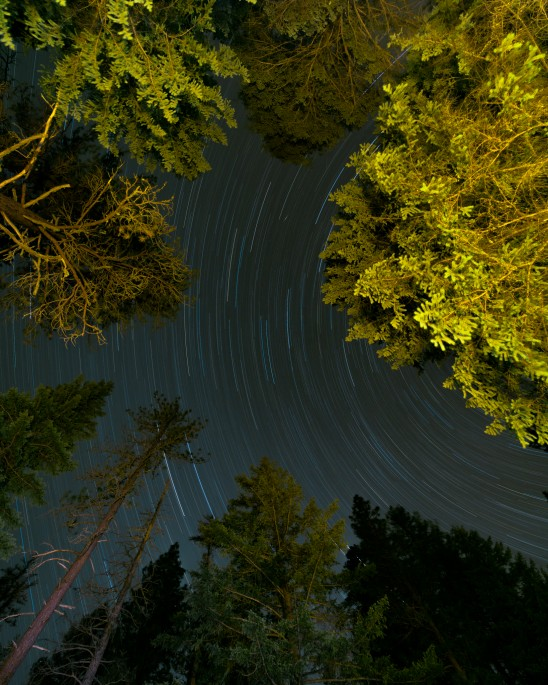 Star Trails Bend Oregon