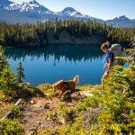 Dog & Backpacker Bend Oregon Nate Wyeth