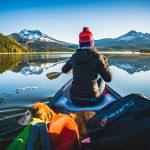 Sparks Lake Bend Oregon Canoe