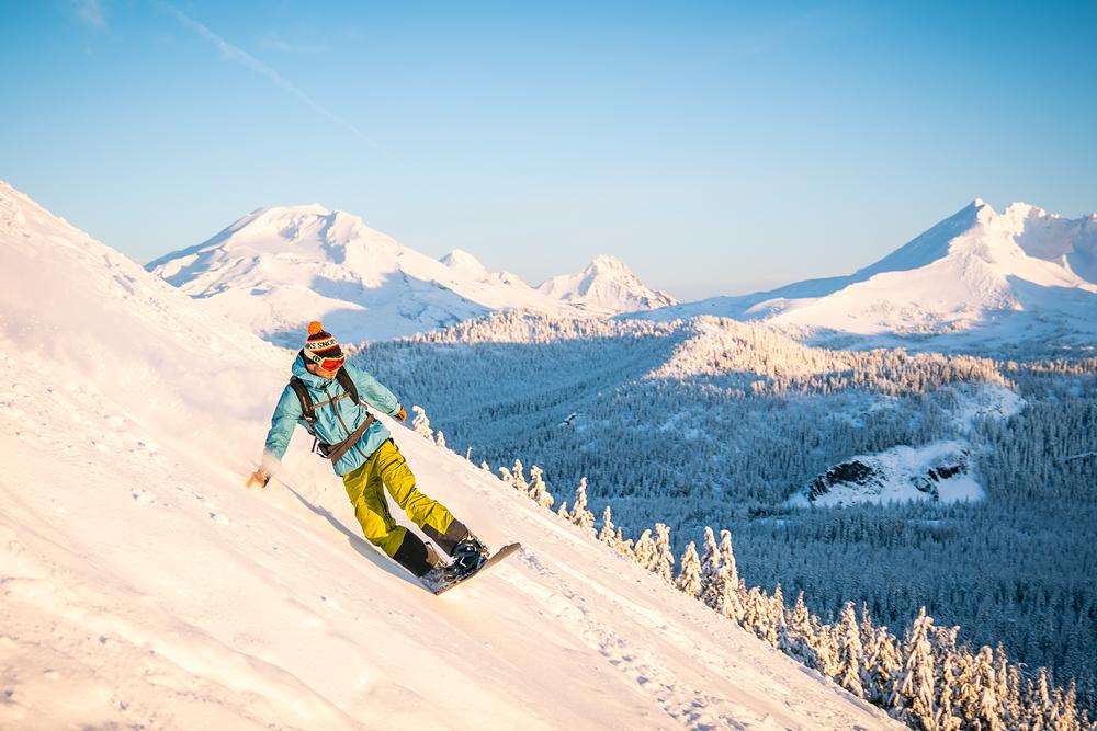 Mt Bachelor Snowboarding Cone