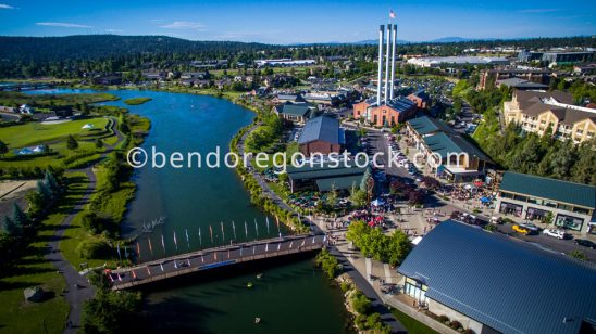 Old Mill Bend Oregon Stock Photography